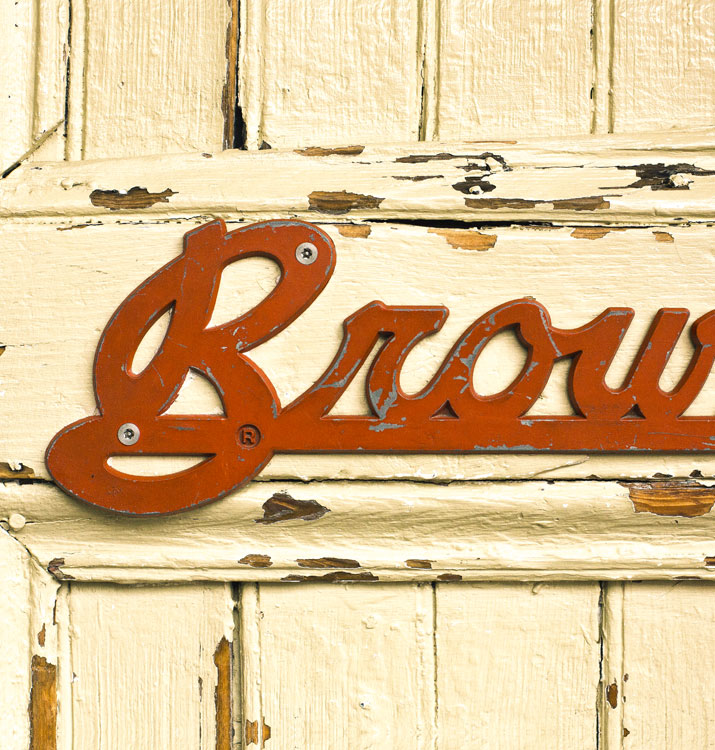 Brown and Company's Front Door